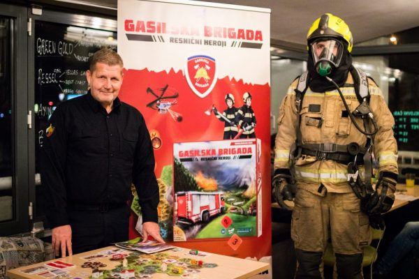 Firemen and the game